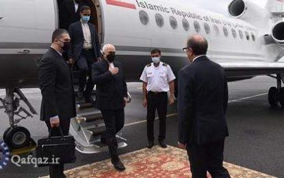 ظریف وارد پایتخت ارمنستان شد