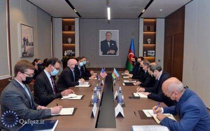 دیدار دستیار وزیر خارجه آمریکا با وزیر امور خارجه جمهوری آذربایجان