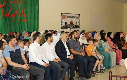 برگزاری دهه کرامت در مارنئولی گرجستان / عکس