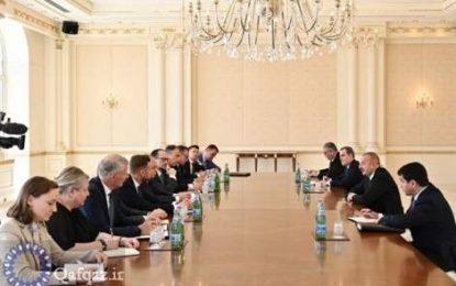 انتقاد علی اف از نادیده گرفتن بیانیه های صلح از سوی ارمنستان