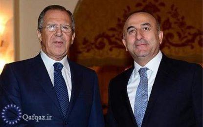 دیدار وزاری امور خارجه روسیه و ترکیه