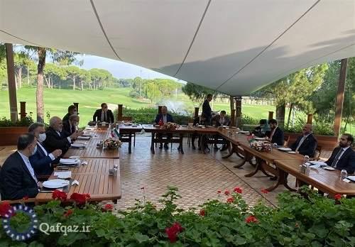 برگزاری نشست سه جانبه وزرای خارجه ایران، ترکیه و افغانستان