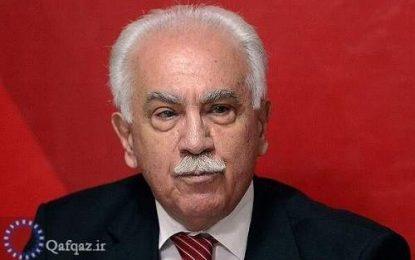 رهبر حزب وطن ترکیه: ایران یک کشور قابل اعتماد در مبارزه با امپریالیسم آمریکا و صهیونیسم اسراییل است