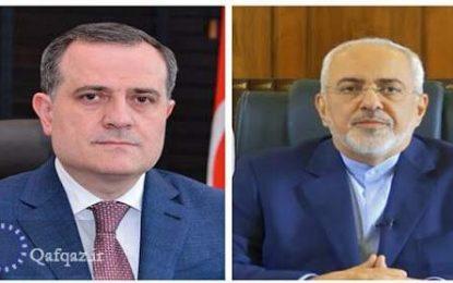 دیدار وزیر امور خارجه جمهوری آذربایجان با همتای ایرانی اش