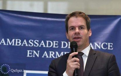 """سفیر فرانسه در ارمنستان: عبارت """"دالان"""" باید از مباحث میان باکو و ایروان حذف شود"""