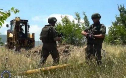 نقض آتش بس و تیراندازی مجدد نیروهای ارمنستان بسوی نیروهای جمهوری آذربایجان