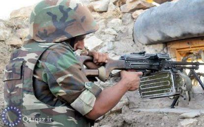تبادل آتش مرزی بین نیروهای ارمنستان و جمهوری آذربایجان
