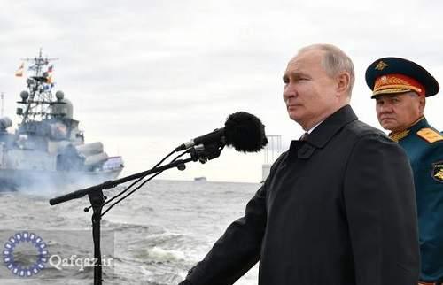 حضورناوهای ایرانی در بزرگترین رژه نیروی دریایی روسیه
