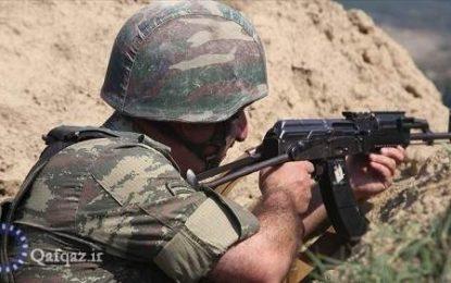 شهادت سرباز جمهوری آذربایجان با تیراندازی نظامیان ارمنی
