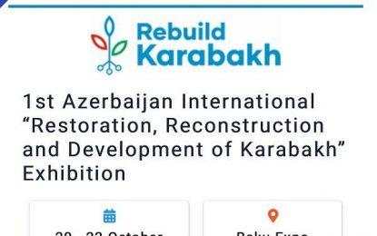 برگزاری اولین نمایشگاه مرمت، بازسازی و توسعه قره باغ