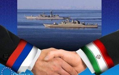 برگزاری رزمایش مشترک روسیه و ایران در دریای خزر