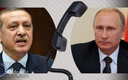 قدردانی ترکیه از ارسال هواپیماهای اطفاء حریق توسط روسیه