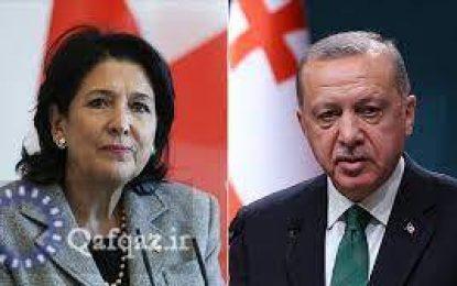 گفتوگوی تلفنی روسای جمهور ترکیه و گرجستان پیرامون روابط دوجانبه