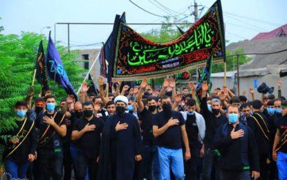 عزاداری شیعیان گرجستان در شب تاسوعای حسینی