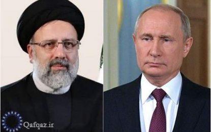 گفت و گوی تلفنی روسای جمهور ایران و روسیه