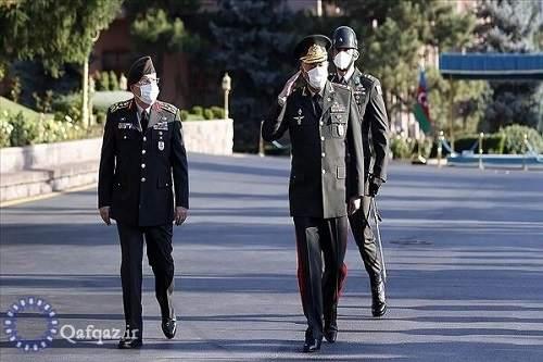 دیدار روسای ستاد کل ارتش ترکیه و جمهوری آذربایجان