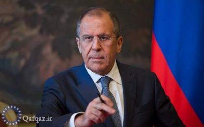 دعوت به آرامش ارمنستان و جمهوری آذربایجان از سوی لاوروف