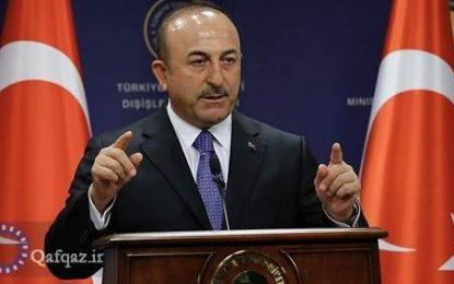وزیر خارجه ترکیه: ارمنستان بداند که اشغال اراضی همسایگان نتیجه ای ندارد