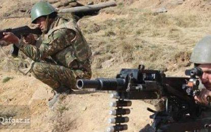 شلیک تک تیراندازهای ارتش جمهوری آذربایجان به سوی غیرنظامیان ارمنی