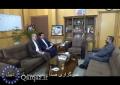 نشست مشترک استاندار اردبیل با سفیر ایران در جمهوری آذربایجان / فیلم
